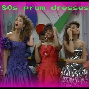 Vintage 80s prom dresses now in stock !